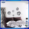 Flower Shaped Self Adhesive Acrylic Mirror Wall Decals Decoration