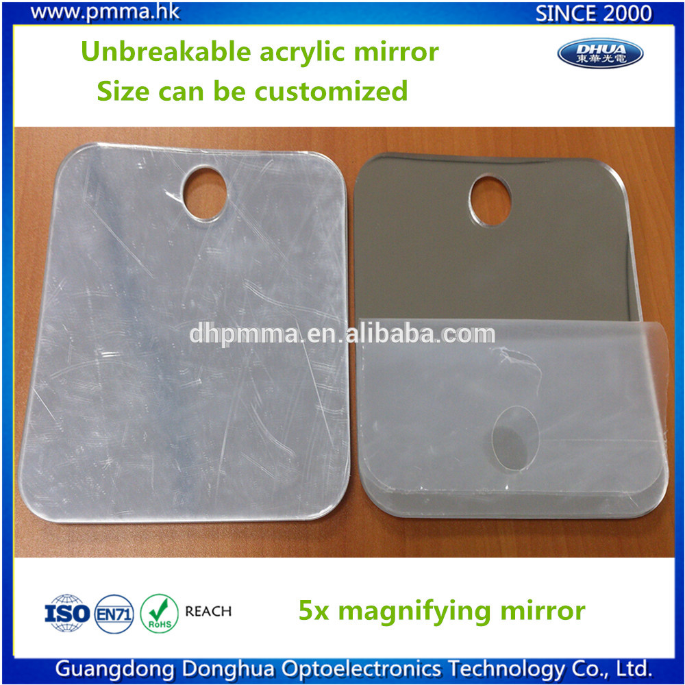 acrylic make-up mirror with magnifying