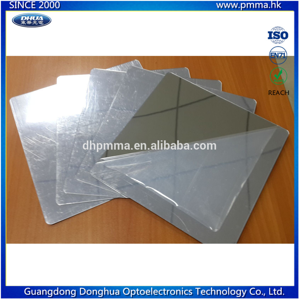 1.0mm thick plastic acrylic mirror with rounded corner