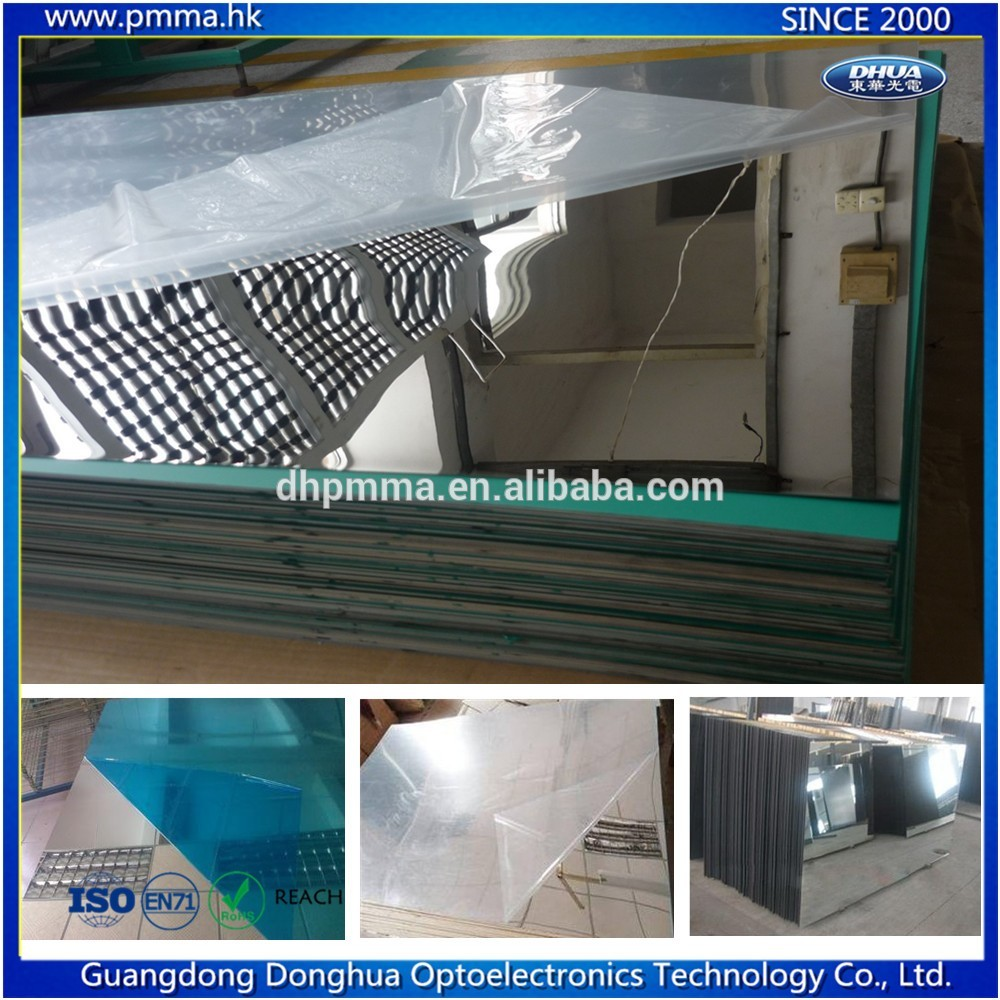100% polystyrene Material mirrored plastic sheets