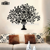 Tree Acrylic Mirror Wall Art Decals in Acrylic for House Decoration