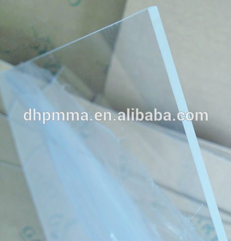 Extruded Acrylic Transparent Sheet And Colored PMMA Sheet 0.8mm-8.0mm