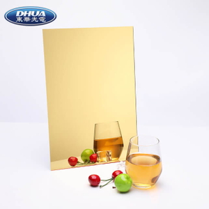 Gold Acrylic Mirror Sheet, Acrylic Gold Mirror, Manufacturer