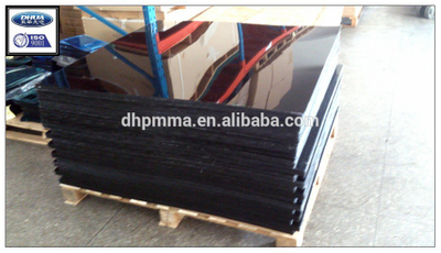 Extruded Black Acrylic Sheet 4fx8f, Colored PMMA Sheet