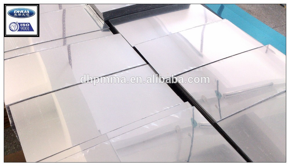 Plastic acrylic mirror with printed design for furniture and toy