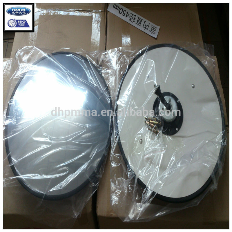 warehouse convex mirror, acrylic convex mirror for parking,convenience shop large-angle mirror