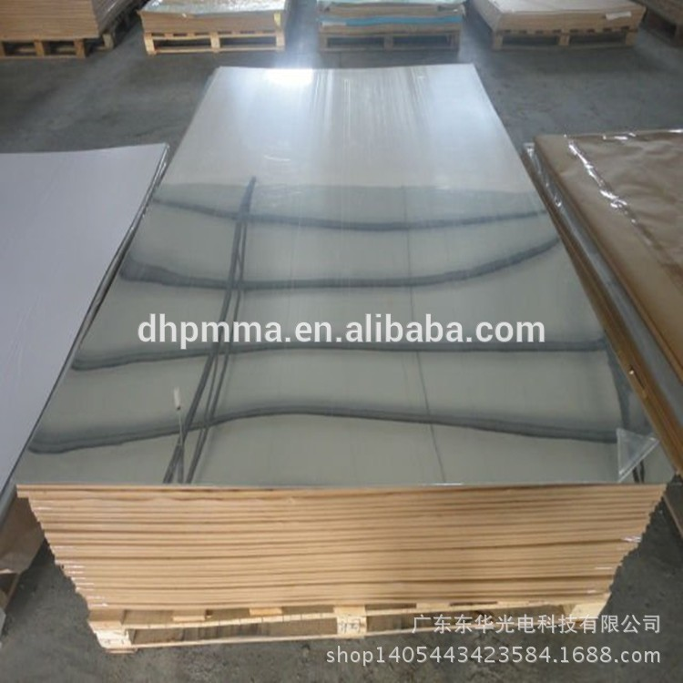 Mirrored Polycarbonate Sheet, Plastic Mirror, Reflective aluminum PC sheet