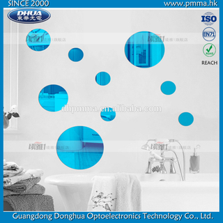 Small Wall Round Acrylic Mirror Decal Home Decorations Simple DIY