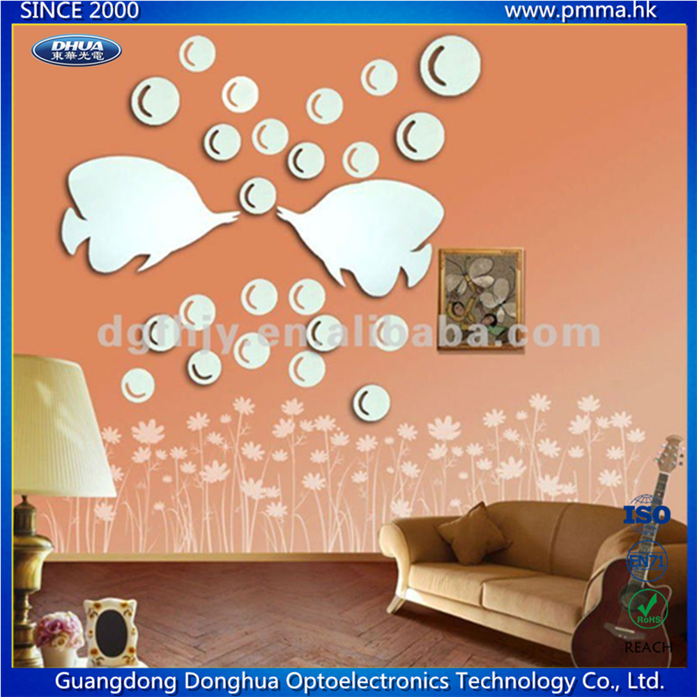 Acrylic Mirror Wall Decals