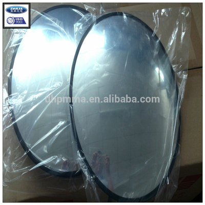 Large angle dome convex spherical mirror for convenience shop