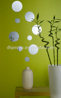 Acrylic Wall Mirror Sticker with Self Adhesive for Decoration