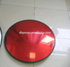Outdoor convex mirror for road security in acrylic with PP back cover shatter proof