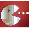 Pacman Shaped acrylic Mirror home decorative wall mirror