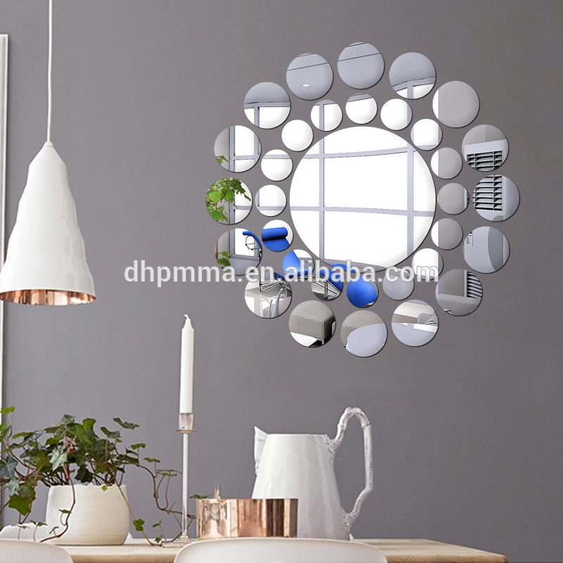 Simple Style DIY Acrylic Wall Mirror Stickers Home ...