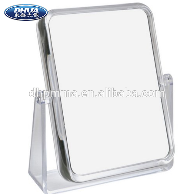 Beauty Clear Acrylic Cosmetic Makeup Two-Sided Mirror