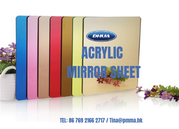 Which Kind of Plastic Mirrors Can Replace Glass Mirrors Without deformation in the case of large areas?