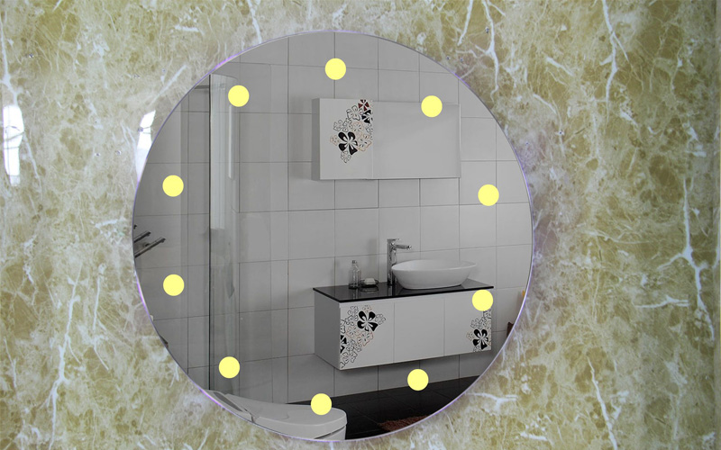 Fogless mirror brings more convenience to life